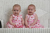 Elizabeth and Ella - 6 months :